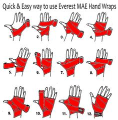 Learn to use handwraps with this guide! #boxing #fitness