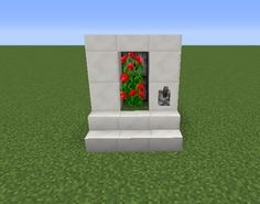 Flower Farm - GrabCraft - Your number one source for MineCraft buildings, blueprints, tips, ideas, floorplans! Minecraft Farm, Minecraft Ideas, Minecraft Buildings, Redstone, Flower Farm, Madness, Video Game, Castle, Gaming