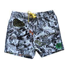 Nonna Bambini - Stella McCartney Taylor Boys Comic Print Swim Shorts, $90.00 (http://www.nonnabambini.com/stella-mccartney-taylor-boys-comic-print-swim-shorts/)