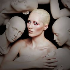 Stand out from the crowd with Illamasqua's brand new Nude Collection. Crowd, Commercial, Join, Nude, Brand New, Statue, Female, Shopping, Collection