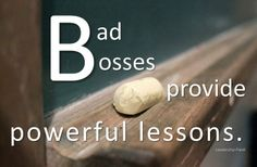 10  lessons from bad bosses