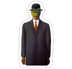 An iconic piece by Belgian surrealist René Magritte. • Also buy this artwork on stickers and home decor.