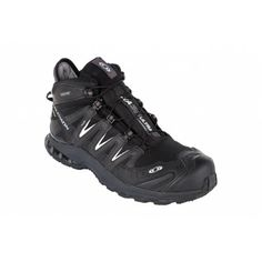 The Salomon XA Pro 3D LTR Gtx is a mid-height waterproof trail shoe with a 3D advanced chassis, SensiFit system and Contagrip outsole