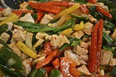 Szechuan Chicken Stir-Fry - 11 Pro Points!