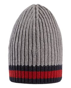 25d79661ce5 Wool+Beanie+Hat+w Web+by+Gucci+at+