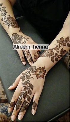 Modern Henna Designs, Latest Henna Designs, Floral Henna Designs, Basic Mehndi Designs, Arabic Henna Designs, Mehndi Designs For Girls, Wedding Mehndi Designs, Mehndi Design Images, Dulhan Mehndi Designs