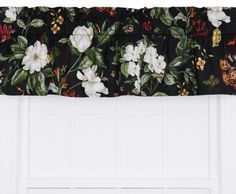Ellis Curtain Garden Images Large Scale Floral Print Tailored Valance, 50 by 15-Inch, Black Ellis Curtain http://www.amazon.com/dp/B00JN24WDW/ref=cm_sw_r_pi_dp_epBtub0NDJ0F2