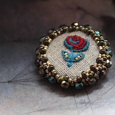 Check out this item in my Etsy shop https://www.etsy.com/listing/554729576/beaded-brooch-brooch-embroidery