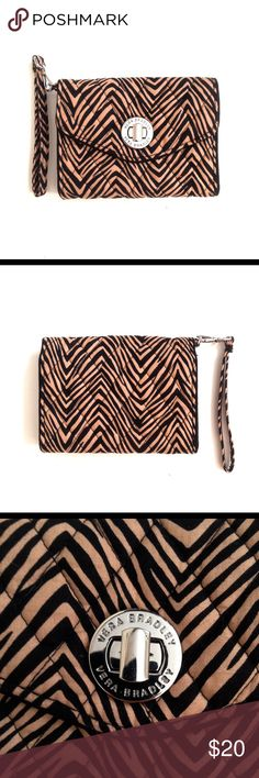Vera Bradley • wallet with zebra print NWOT Brand new Vera Bradley wallet, zebra print. Let me know if you have any questions! Vera Bradley Bags Wallets