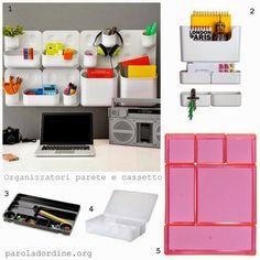 paroladordine-da avere-studio-organizzatori parete e cassetto
