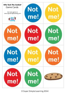 "Cookie Jar Song Alluring Funny Food Flashcards For The Super Simple Learning Song ""do You"