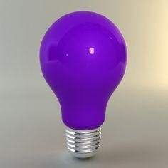 Purple light bulb for all my purple ideas.. lol ♥