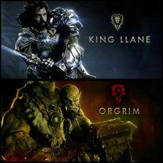 Here is 2 Brand NEW !!! Pics from WarCraft Featuring King LLane & Orgrim. WarCraft hits the big screen on March 11th 2016 !!!