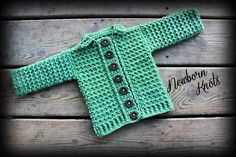 CROCHET PATTERN for Baby Boy or Girl Ribbed Collar by NewbornKnots