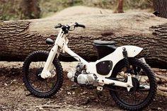A simple yet elegant mod of classic Honda C50 by 56 Motorcycles Custom Garage 1