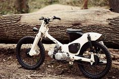 A simple yet elegant mod of classic Honda C50 by 56 Motorcycles Custom Garage 1