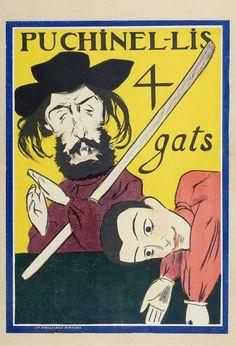 Cartell putxinellis quatre gats-MAE-25221 - Els Quatre Gats - Viquipèdia, l'enciclopèdia lliure