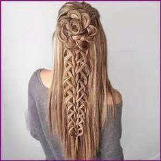 penteado para daminhas de honra - Bing images