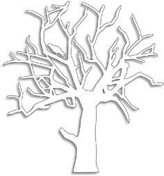 Freebie: Winter Tree with Raven
