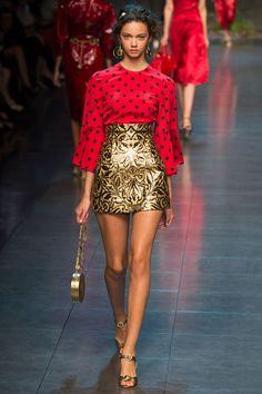 Dolce & Gabbana / Domenico Dolce & Stefano Gabbana // SS14 / RTW // MFW // Ph: Yannis Vlamos // Ft: Marina Nery