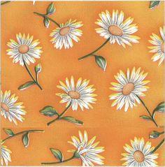3 Decoupage Paper Napkins flower serieschamomile by Sdwstore, $2.20