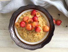 Anti-Inflammatory Golden Turmeric + Ginger Breakfast Bowl - mindbodygreen.com