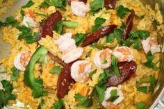 #Filipino Shrimp Paella, Perfect #Mother'sDay dish #EasyAsian