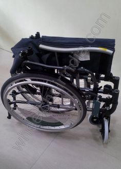 """Karma S Ergo 305 Wheelchair Features:  Only 10 kg. (w/ wheels & footrests removed) Folding backrest, for transporting chair in car, bus, trips, ect. Swing in & away footrest for maximum safety while entering or exiting the chair 24"""" Quick Release rear spoke/polyurethane/high profile/flat free wheels & 7×1"""" front casters Seat Width: 18""""x17"""" OR 16"""" x 17"""" Upholstery: Silver/Black mesh AEIGIS back and seat cushion Height Adjustable Armrest Factory Height Settings should be selected at time of…"""