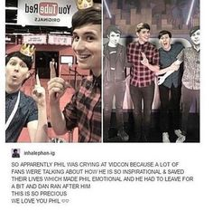We love you, Dan and Phil!! Thank you for making the world a brighter place!