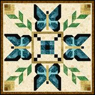 Butterflies Are Free - http://quiltingimage.com/butterflies-are-free/