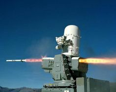 The SeaRAM Anti-Ship Missile Defense System is a spiral development of key attributes of the Phalanx Close-In Weapon System and the Rolling Airframe Missile (RAM) Guided Weapon System. SeaRAM is designed to extend the inner layer battlespace and enable the ship to effectively engage multiple high-performance, supersonic and subsonic threats.  An 11-missile RAM launcher assembly replaces Phalanx's 20 mm gun.