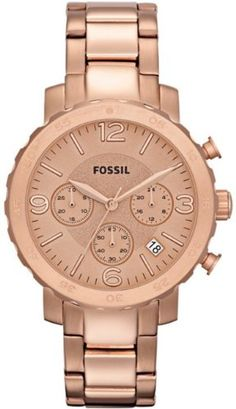 Fossil Women's Natalie Stainless Steel Rose-Tone Watch AM4423 - http://www.styledetails.com/fossil-womens-natalie-stainless-steel-rose-tone-watch-am4423 - http://ecx.images-amazon.com/images/I/41FbcIReLDL.jpg