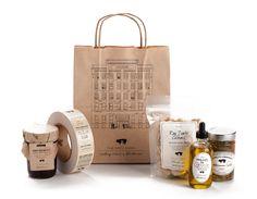 The Dirty Apron Delicatessen - Glasfurd & Walker : Branding - Graphic - Packaging Design Food Packaging Design, Packaging Design Inspiration, Brand Packaging, Branding Design, Packaging Ideas, Food Branding, Paper Packaging, Branding Ideas, Identity Branding