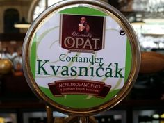 Exclusive Czech coriander pilsner on at the minute #tastygoodness