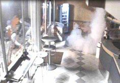 Antifurto nebbiogeno in un bar