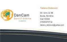 Carti vizita - Tatiana Dobrovici