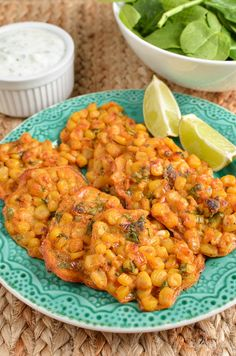 Slimming Eats Low Syn Lime and Chilli Sweetcorn Fritters - gluten free, dairy free, vegetarian, Slimming World and Weight Watchers friendly