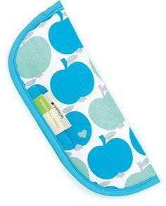 Gurtpolster für Babytragen und Auto-Sicherheitsgurt Artur Apfel Petrol