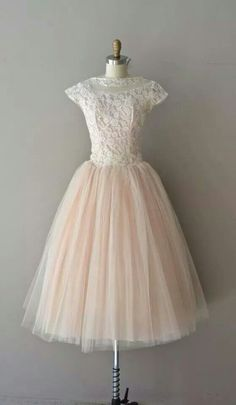 I love the top of your thinking of a more vintage look you could make a move towards lace