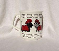 Scotland Scottie Terrier Dog Coffee Mug Cup Travel Tourist Souvenir Gift