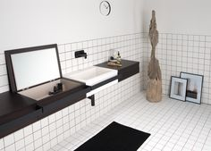 LINK Lavabo by EVER by Thermomat Saniline diseño Diego Cisi