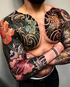 "Gefällt 6,851 Mal, 37 Kommentare - Japanese Ink (@japanese.ink) auf Instagram: ""Japanese tattoo sleeves by @mark_corliss_tattoo. #japaneseink #japanesetattoo #irezumi #tebori…"""