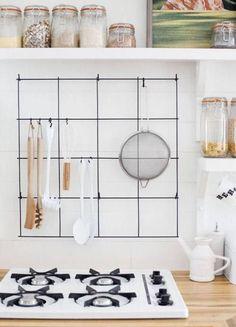Kitchen Utensil Holder Organizer kitchen Tool black