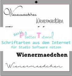 Basic-Tutorial: Wie ihr Schriftarten aus dem Internet für die...