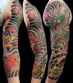 100 Cherry Blossom Tattoo Designs For Men – Floral Ink Ideas – floral tattoo sleeve Irezumi Tattoos, Tribal Tattoos, Trendy Tattoos, Hand Tattoos, Tattoos For Guys, Cool Tattoos, Geometric Tattoos, Buddha Tattoos, Abstract Tattoos