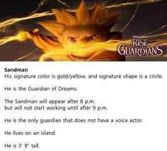 ROTG: Interesting Fact of Sandy