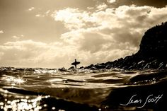 """Burleigh Point this morning. I like this one. :)""...Sean Scott Photography"