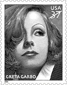 One of the greatest movie stars of all time, Greta Garbo was known for her beauty, artistry, enigmatic personality, and sensuality, which continue to resonate with film audiences. In 2005, the U.S. Postal Service commemorated the 100th anniversary of her birth with joint issue stamp with Sweden Post.