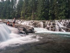 Visiting Vancouver Island in British Columbia? Don't miss Stotan Falls. A spot that looks as though it has been plucked from a tropical location. Places To Travel, Places To See, Visit Vancouver, Western Canada, Canada Travel, Canada Trip, Cool Landscapes, Island Life, Staycation