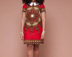 45 Fashionable African Dresses Discover the hottest ankara African dresses you need this season. Everything from peplum, bubble sleeves, and flare to mixed African print. This season's hottest styles & where to get them are in one convenient post. Latest African Fashion Dresses, African Inspired Fashion, African Dresses For Women, African Print Dresses, African Print Fashion, Africa Fashion, African Attire, African Wear, Fashion Prints